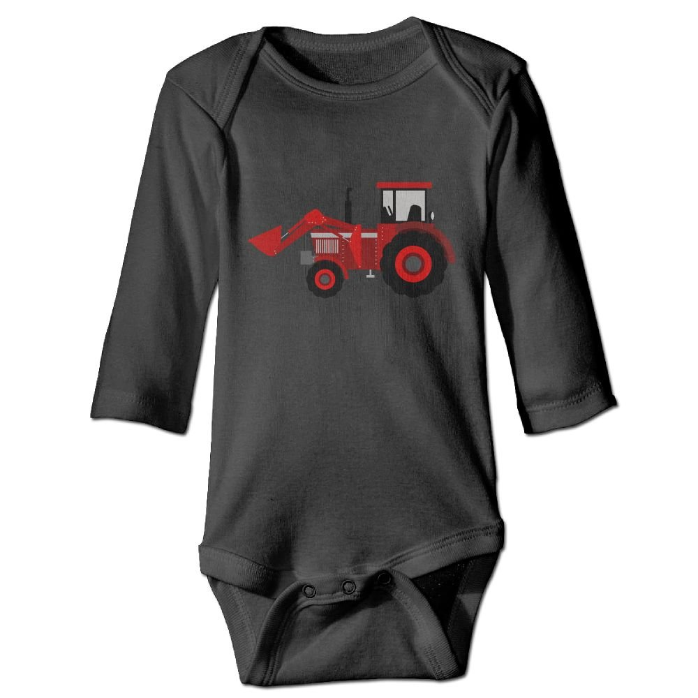 Wangyi Farmer Tractor Baby Jumpsuit Infant Boy Girl Clothes Cotton Romper Bodysuit Onesies