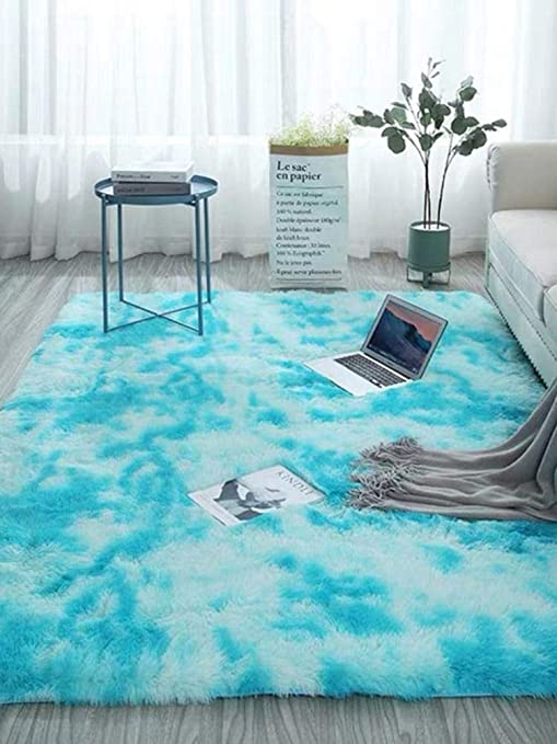 Amazon.com: Ksruee Tie-dye Soft Area Rugs for Living Room ...