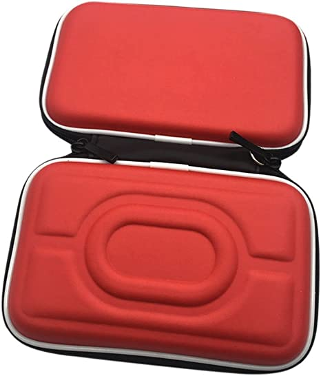 Meijunter Funda de transporte duro EVA Protectora Bolsa Caja para Nintendo Gameboy Advance GBA Gameboy Color GBC consola (Rojo): Amazon.es: Videojuegos