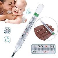 BIKITIQUE Termómetro para Bebés Adultos sin Mercurio Termómetro