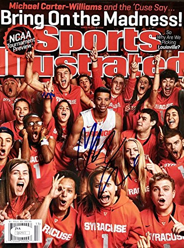 Michael Carter Williams Signed (March 25th 2013) Sports Illustrated Magazine - JSA Certified - Autographed NBA Magazines