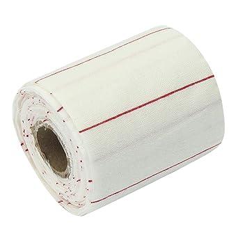 ChaRLes 4X2 pulgadas, 10 yardas, rollo, algodón, paños de limpieza ...