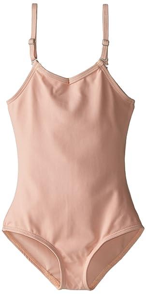 ba708d4129b18 Capezio Little Girls' Camisole Leotard W/Adjustable Straps,Ballet Pink,S (