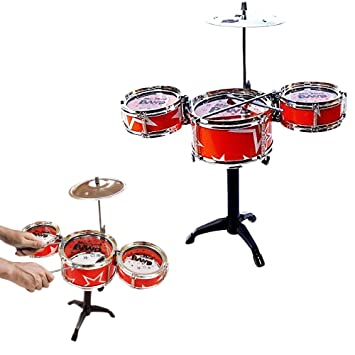 Amazon Com Drum Kids Toddler Rock Jazz And Country Band Mini