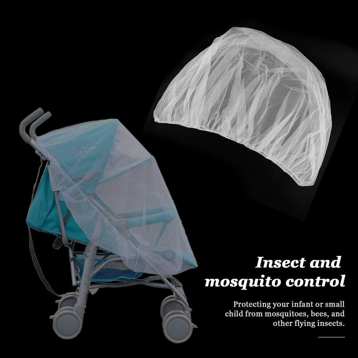 SeniorMar Trendy Summer Infants B/éb/é Poussette Moustiquaire Buggy Landau Protecteur Poussette Fly Midge Insecte Bug Bug Cover Poussette Accessoires