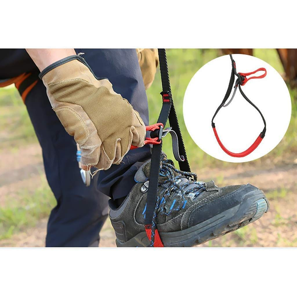 Yundxi Adjustable Foot Loop Ascender Webbing Sling for Tree Arborist Mountaineering Caving Rock Climbing
