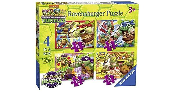 Ravensburger Tortugas Ninja - Set de 4 Rompecabezas 70992 ...
