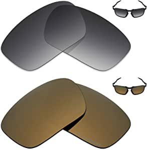 amazon com mryok 2 pair polarized replacement lenses for