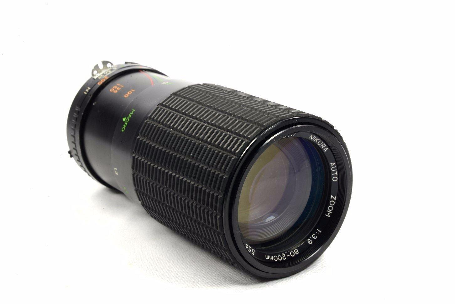 Nikura 80 200mm F 39 Nikon Manual Focus Lens Camera Parts Diagram Where To Get For A D5000 Slr Photo