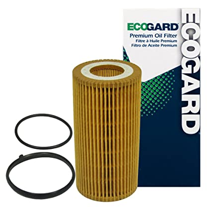 db241a9224 ECOGARD X5581 Cartridge Engine Oil Filter for Conventional Oil - Premium  Replacement Fits Volkswagen Jetta,