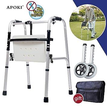 Andadores Ancianos,Andadores Adulto,Andador Plegable,Andador Con ...