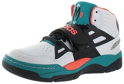 adidas Originals Mutombo TR Block Mens Basketball Shoes G98039 Running White  Black-Emerald 9 M 222344d53