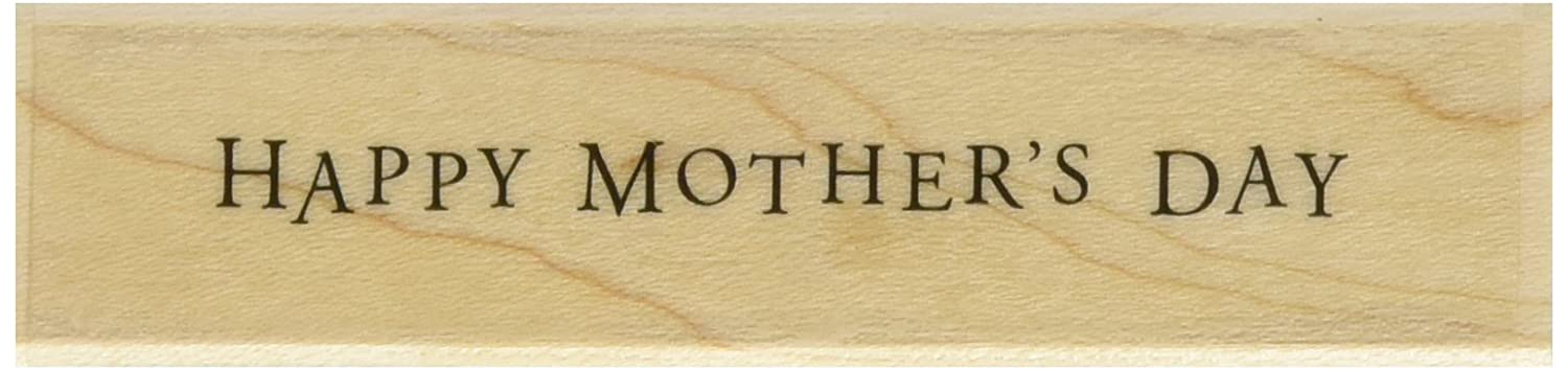 Hero Arts Mother's Day Message Woodblock Stamp