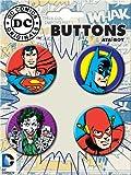 Ata-Boy DC Comics Originals Assortment #1 4 Button Set