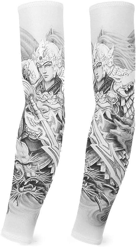 XIUtao Manga Protectora para el Sol Manga de Hielo Seda del ...