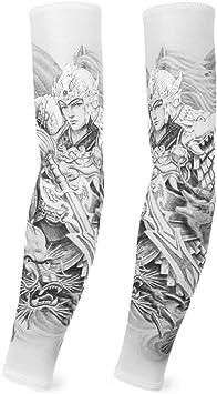 XIUtao Manga Protectora Protectora de Seda de Hielo para Hombre ...