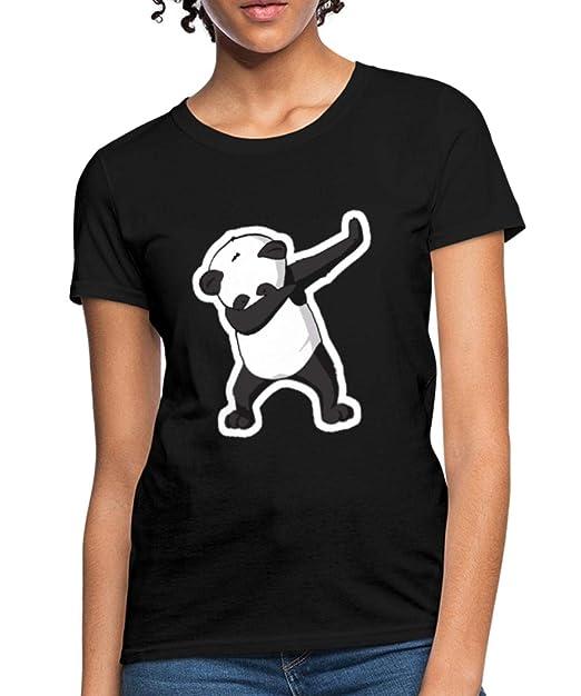 45984af2c Amazon.com: Spreadshirt Dabbing Panda Dab Women's T-Shirt: Clothing