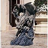 Design Toscano Scatheus Guardian of The Shadows Gargoyle Statue