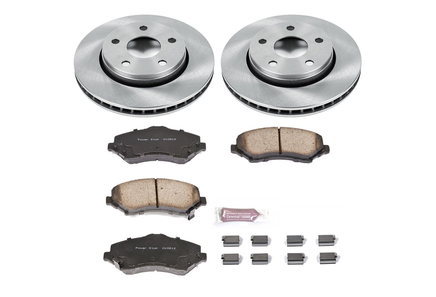 Autospecialty KOE3097 1-Click OE Replacement Brake Kit Power Stop
