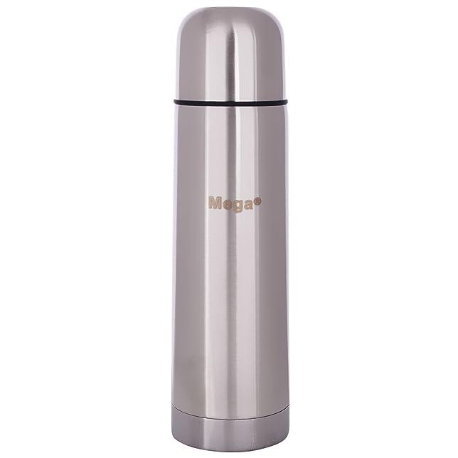 Megaslim Steel Vacuum Flask with sling bag (500 ml.)