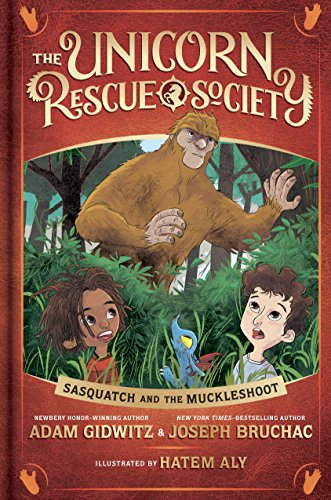 Sasquatch and the Muckleshoot (The Unicorn Rescue Society) by Dutton Books for Young Readers (Image #1)