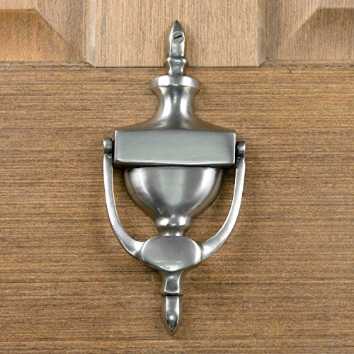 Casa Hardware Brass Vintage Door Knocker - Antique Pewter