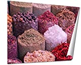 Ashley Giclee, Colorful Spices On The Traditional Arabian Souk Market In Dubai, 24x30 Print