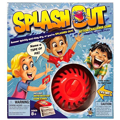 Splash Out Game, Multicolor (Balloon Splash)