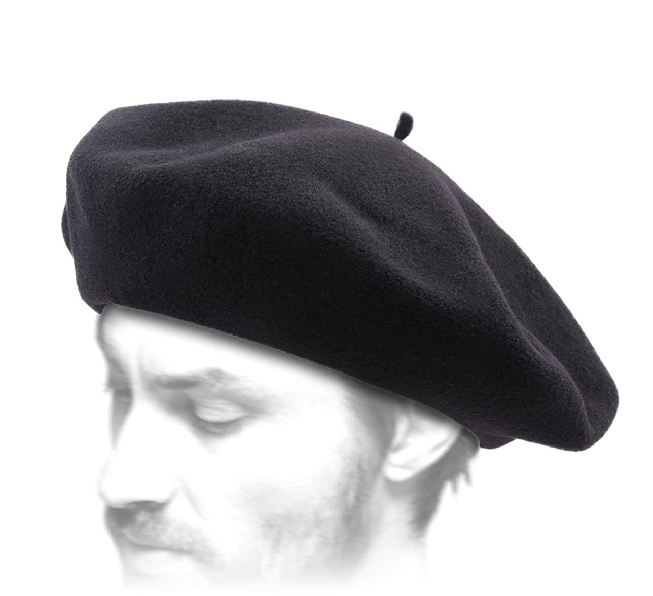 93dfdd4b2b407 Laulhère Men s Basque Authentique French Beret Basque