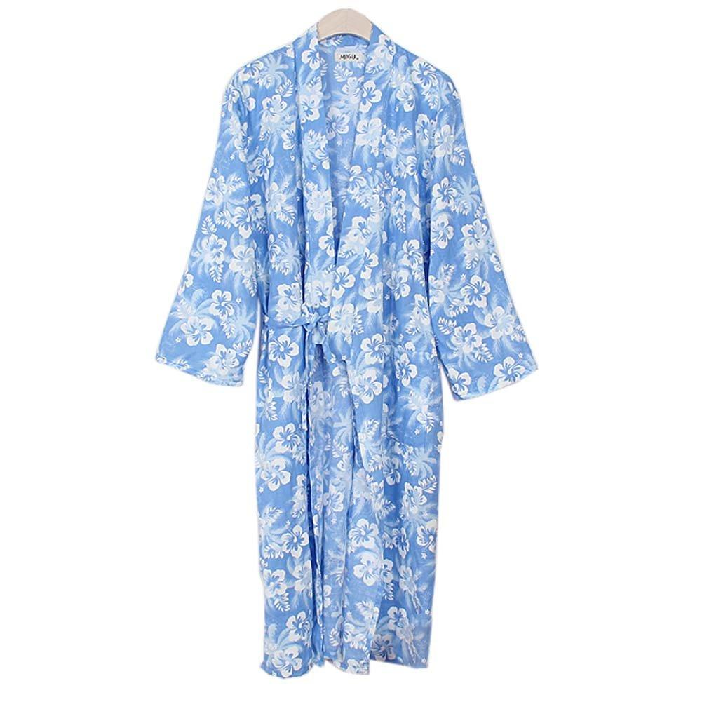 FANCY PUMPKIN Women's Kimono Robe Yukata Bathrobe Pajamas #11 CLO-FIONA1045430-208