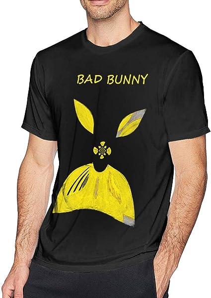 Camiseta de Manga Corta para Hombre Bad Bunny Vete Comfort ...