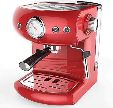 RUIXFCA Cafetera Espress para Espresso y Cappuccino, Presión 15 Bares,950 W, Depósito 1,4 litros, Vaporizador Orientable, Regulador de Presión, B: Amazon.es: Deportes y aire libre