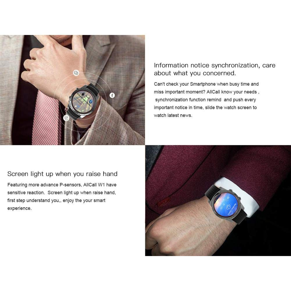 Createjia AllCall W1 3G Smartwatch Teléfono Grado Deep ...