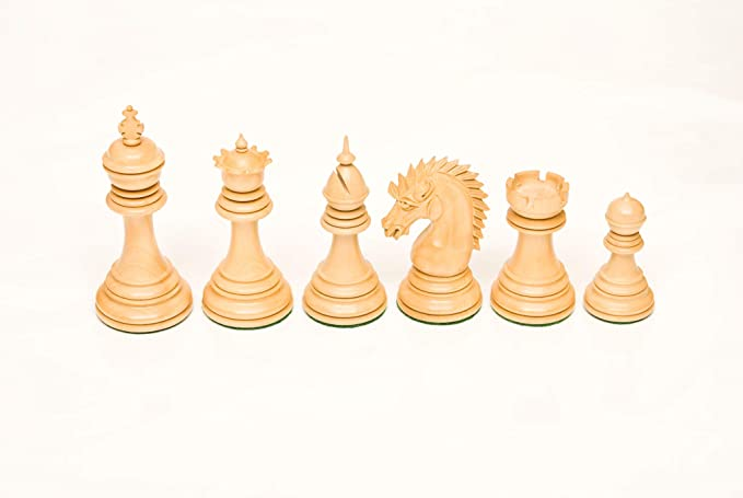184 Bud Rosewood & Boxwood 4.5 Chess Set