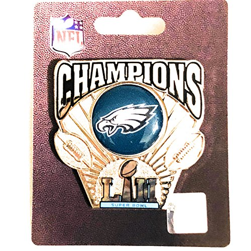 2018 SUPER BOWL 52 EAGLES CHAMPIONS PIN WINCRAFT DELUXE LIMITED EDITION EAGLES SUPERBOWL LII (Limited Edition Eagle)