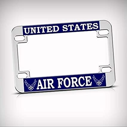 US UNITED STATES AIR FORCE Metal License Plate Frame