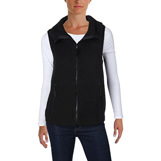 521125125fff1 Betsey Johnson Womens Performance Fitness Workout Vest Black S at Amazon  Women s Clothing store