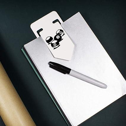 Azeeda 141mm Bolas de Billar Clip de Papel Plástico Gigante ...