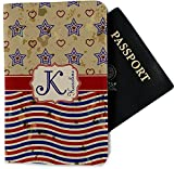 Vintage Stars & Stripes Passport Holder - Fabric (Personalized)