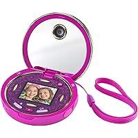 VTech - Kidizoom Pixi, doble cámara compacta de bolsillo para hacer fotos, selfis y vídeos, tapa abatible, juegos…