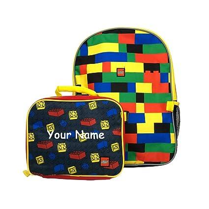 Amazon.com: Mochila personalizada con bloques clásicos para ...