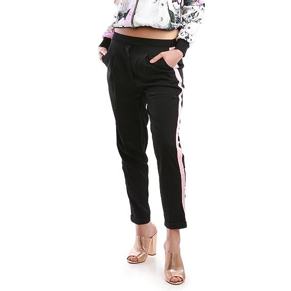 Femme La Pantalon Tailleur Style De Modeuse Jogger wuOZPiTkX