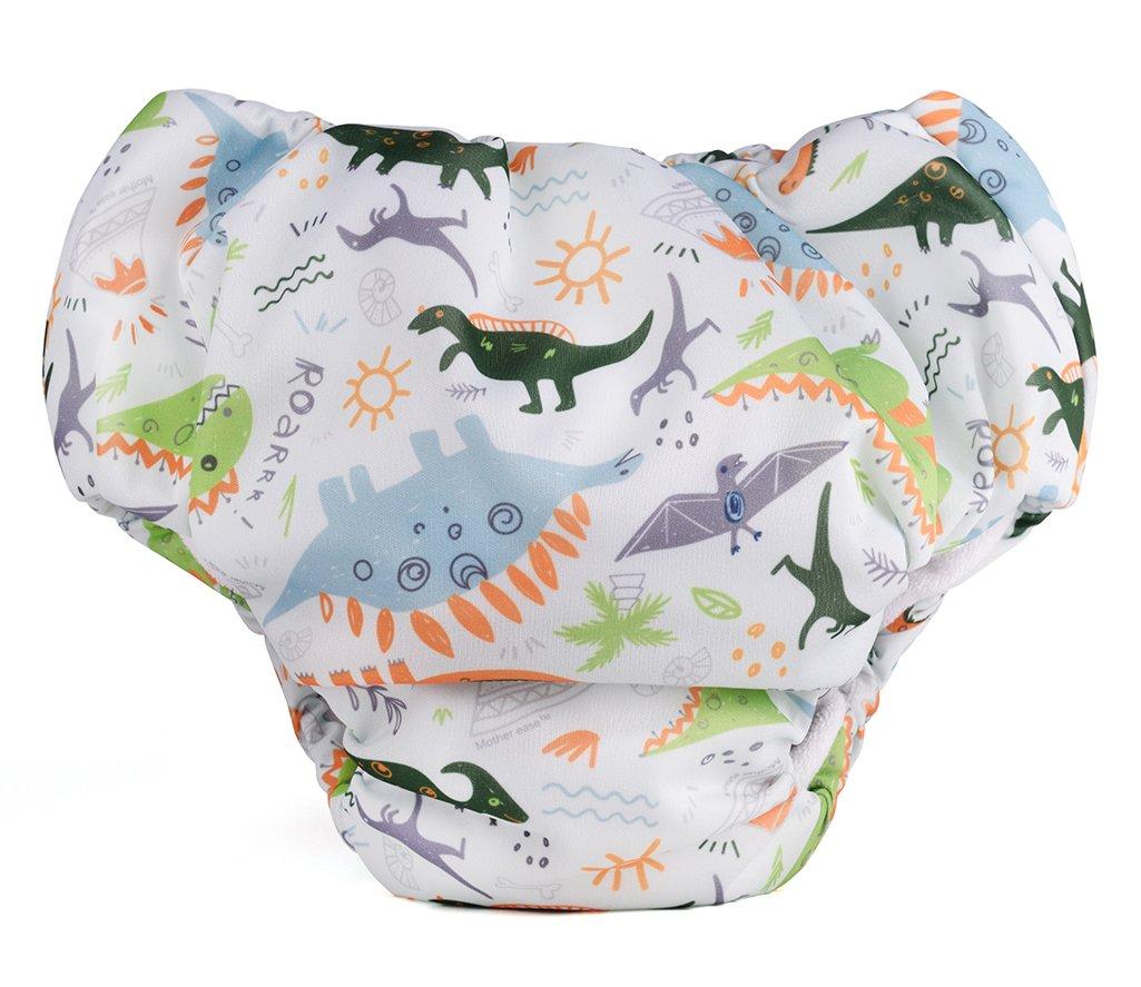 Mother-Ease Bedwetter Training Pants (Dino, Medium)