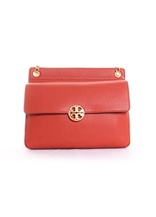 c1bffe2b8707 Amazon.com  Tory Burch Chelsea Flap Shoulder Bag in Kola  Clothing