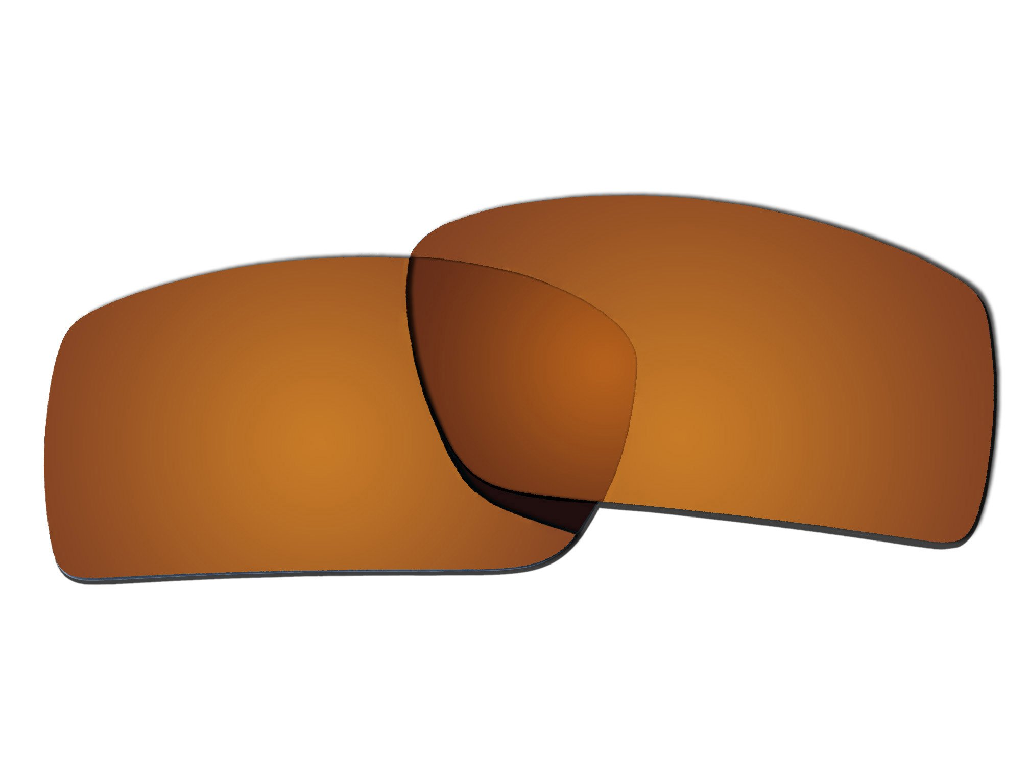 Polarized Replacement Sunglasses Lenses for Oakley Gascan with UV Protection(Brown) by C.D