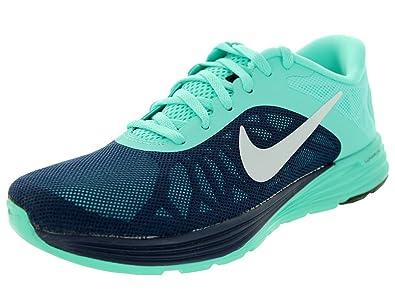 wholesale dealer e28f0 00855 Nike Women s Lunarlaunch Midnight Navy Black Hyper Turq Running Shoe 9 Women  US