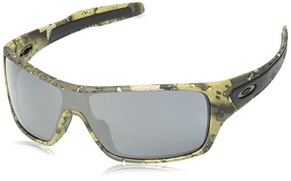 684007cd6c Image Unavailable. Image not available for. Color  Oakley Men s Turbine  Rotor Non-Polarized Iridium Rectangular Sunglasses ...