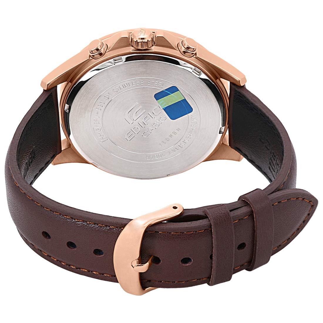 8dc1037ea9b Relógio Casio Edifice Analógico Masculino Cronógrafo EFV-530GL-5AVUDF   Amazon.com.br  Amazon Moda