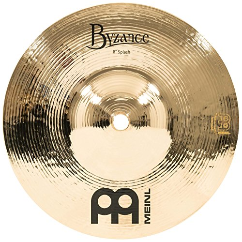 Meinl Cymbals B8S-B Byzance 8-Inch Brilliant Splash Cymbal (VIDEO)