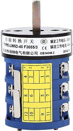 Vgeby 220v 380v 40a Reifenwechsler Maschine Reverse Switch Turn Tisch Pedal Switch Auto